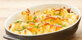Flan de chou-fleur au fromage