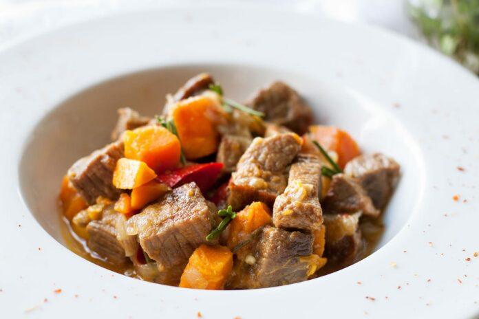 Curry de boeuf au potiron