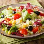 Salade de riz complète