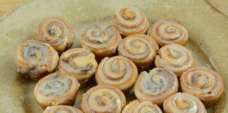 Cinnamon rolls avec Thermomix