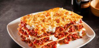 Lasagnes allégées au fromage blanc
