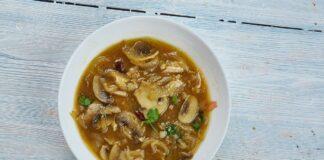 Soupe thaïlandaise au poulet au Thermomix