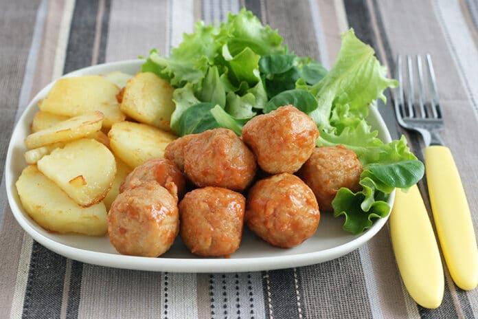 Boulettes de poisson aux pommes de terre