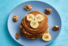 Pancakes à la banane à 1 SP