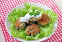 Blinis de courgettes Weight Watchers