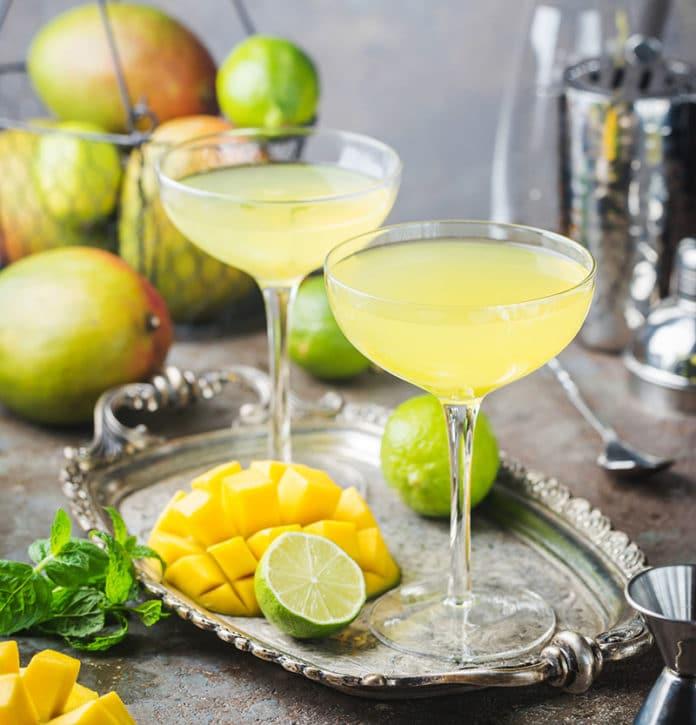 Cocktail Daiquiri aux fruits au Thermomix