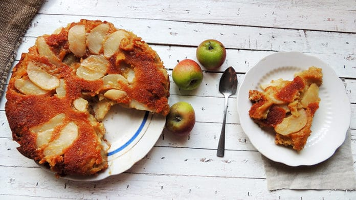Gâteau aux pommes et yaourt 0%