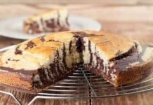 Gâteau marbré au yaourt fait au Cookeo