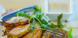 Galettes de légumes cuites au four