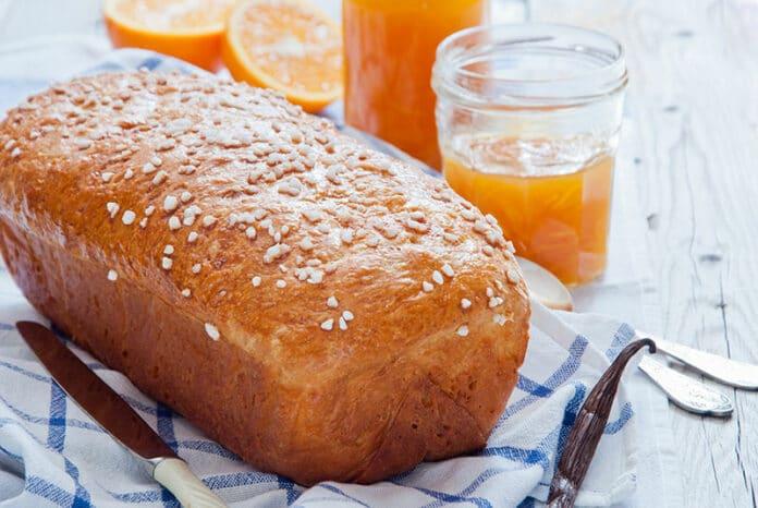 Brioche facile au jus d'orange