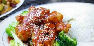 Poulet au sésame pour régime