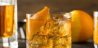 Cocktail oranges, pommes et Xérès