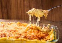 Plat familial : Le gratin de pâtes au poulet et béchamel