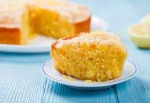 Cake au citron sans farine