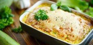 Plat de saison : Gratin de pommes de terre aux courgettes