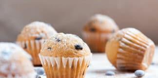 Muffins aux pépites de chocolat sans beurre