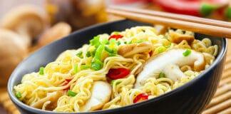 Ramens express, repas rapide et tendance