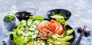 Bowl au saumon ultra gourmand et anti-gaspi