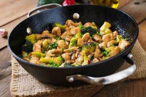 Gratin de brocolis et blanc de poulet